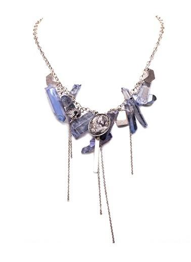 Amulette Jewel Kolye Mavi